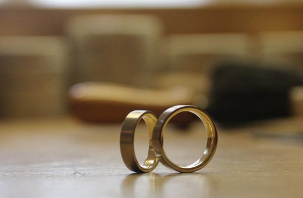 unseren Ringen sind genau so geworden, wie wir es uns vorgestellt hatten